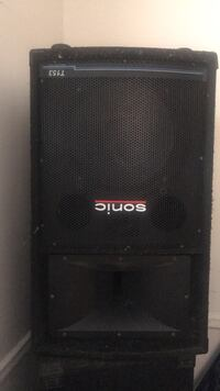 black and gray Pioneer subwoofer New York, 11207