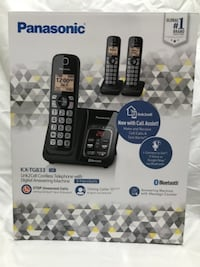 Panasonic KX-TG833 cordless Phones with Digital Answering Machine FALLSCHURCH