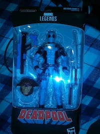 Marvel legends grey blue deadpool Chicago, 60632