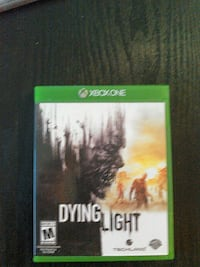 Xbox One Dying Light game case Charles Town, 25414