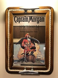 ORIGINAL 1970's First Captain Morgan Mirror Fayetteville, 72703
