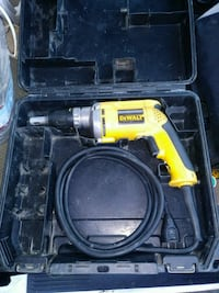 yellow and black Dewalt corded power drill Oakland, 94601
