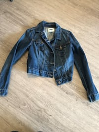 Blue denim button-up jacket Calgary, T2N 4C2