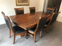 brown wooden dining table set Vaughan, L4H 1T2