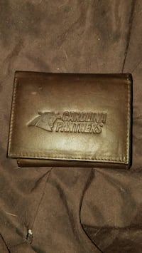 Carolina Panthers trifold wallet (genuine cowhide) Wilson, 27893
