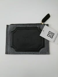Black and white givenchy leather zip wallet Oklahoma City