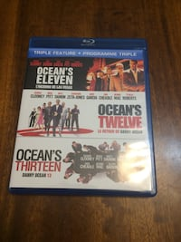 Ocean Eleven to Thirteen BluRay Triple feature on BluRay North Vancouver, V7P 1S3