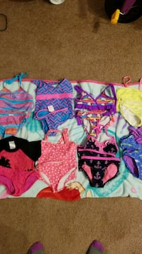 Toddler bathing suit size 4-5.All for $5..