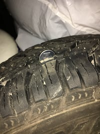 Used winter tires only used for one season Bolton, L7E 1K8