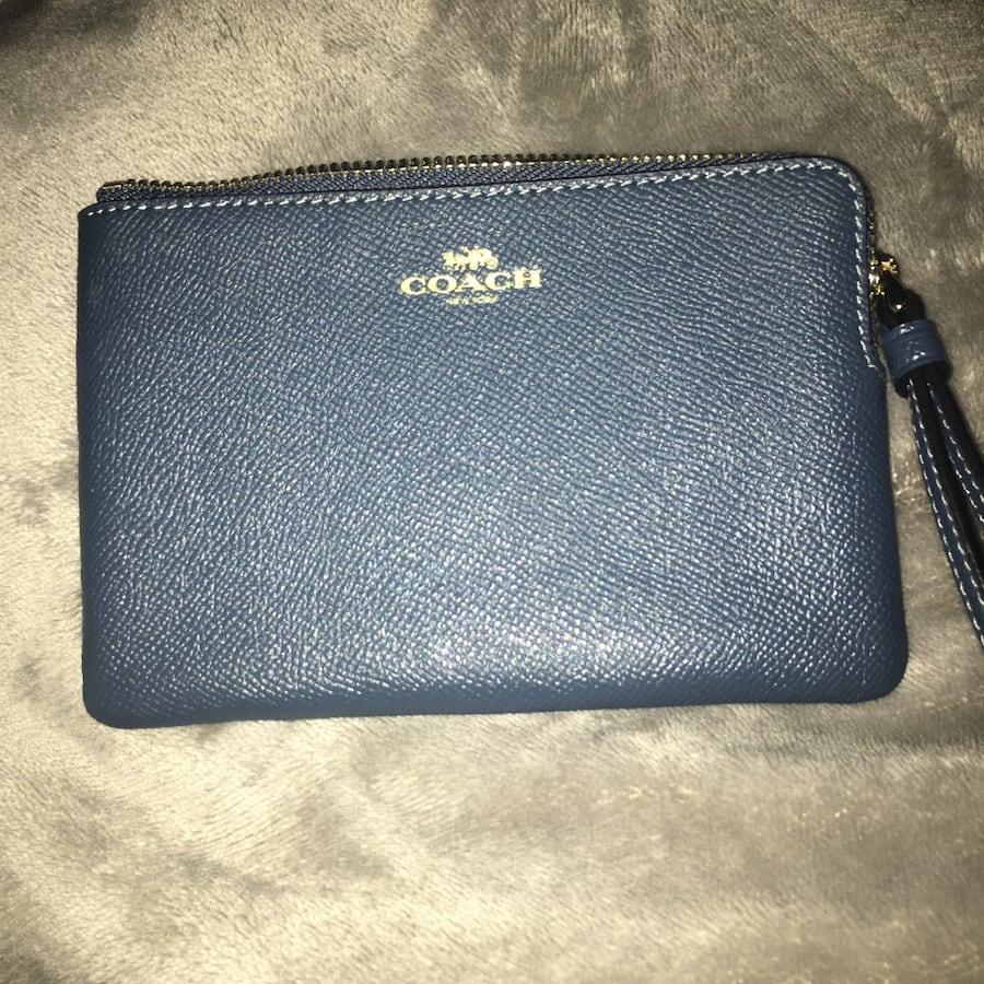 Authentic coach coin wallet