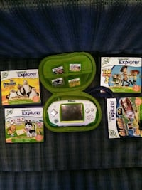 Leapster explorer with 8games 385 mi
