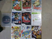 Assorted wii games $5.00 each