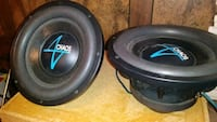 (2) Accendant Audio Chaos 12 inch subwoofers