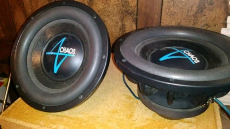 (2) Accendant Audio Chaos 12 inch subwoofers 03892ad2-93d0-4c30-8008-3174f4db9554