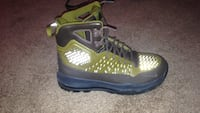 pair of green-and-black Nike basketball shoes West Des Moines, 50265