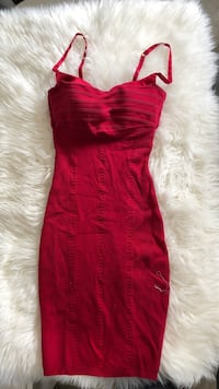 red spaghetti strap mini dress Vancouver, V5S 1H6