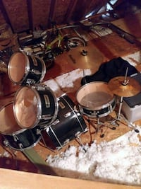 black and gray drum set Stone Mountain, 30083