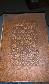 1921 Colliers New Encyclopedia complete set Pen Argyl, 18072