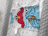 Sesame street cookie monster and elmo 9 mo. Shirt Hacienda Heights, 91745