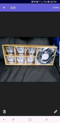 BRAND NEW NEVER OPENED 12 PIECE ESPRESSO SET Montreal, H9H 2P5