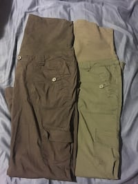 4 Maternity cargo pants  Langley, V2Z 2B8