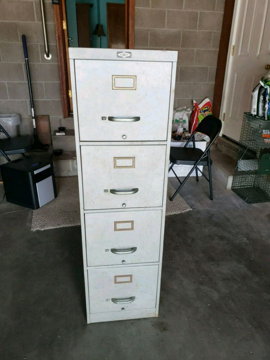 used white metal 4 drawer filing cabinet for sale in jeffersonville rh us letgo com