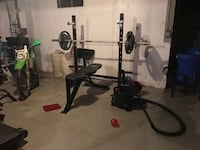 Marcy Pro bench and squat rack Plaistow, 03865