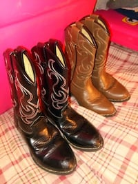 Toddler cowboy boots size 9M Dallastown, 17313