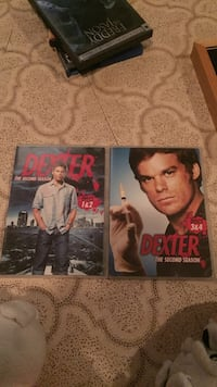 Two dexter second season dvd cases, one of the cases is still sealed  Beaufort, 29920