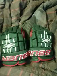 Bauer hockey gloves size 14