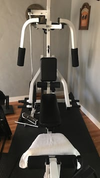 black and white exercise equipment Santa Maria, 93454
