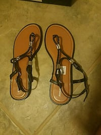Brand New Never Worn 7.5 Black Sandals Greenwood Lake, 10925