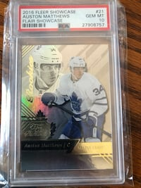 Auston Matthews Flair Showcase Rookie Graded 10 Toronto, M6H 2V8