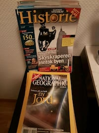 National Geographic book lot