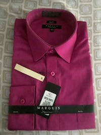 Magenta Dress shirt long sleeve New York, 10010