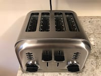 Cuisinart CPT-180 Metal Classic 4-Slice toaster, Brushed Stainless Alexandria, 22314