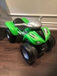 Kawasaki - four wheel quad ride on