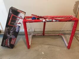 Kid's Hockey Stick and Goal