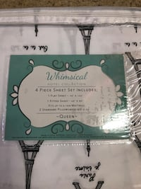 Queen size 4 piece bed sheet set  Oro Valley, 85737