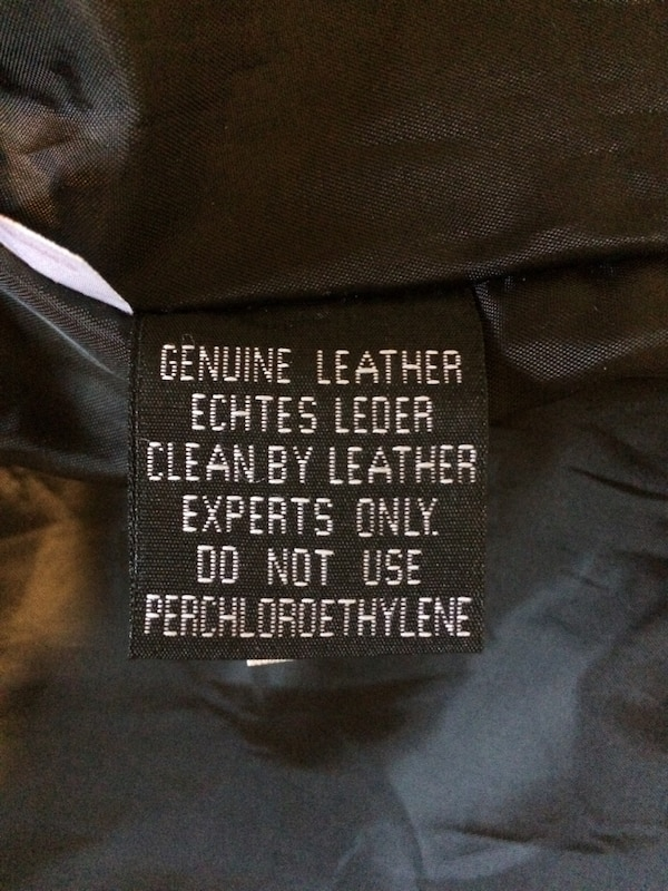 4ab892c9819 Used black leather zip-up jacket for sale in Greater Sudbury   Grand ...