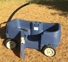 Wagon / Step 2 . Can also be used as a lawn cart