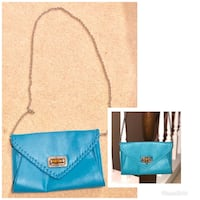 Teal Purse with removable chain strap Smyrna, 37167