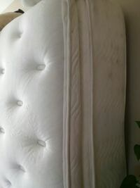 white leather tufted bed headboard Phoenix, 85006