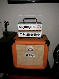 Orange Micro terror head and matching speaker cab