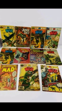 assorted-title comic book lot Montréal, H1X 1A9