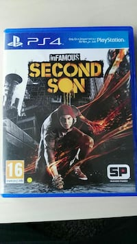 INFAMOUS SECOND SON PLAYSTATİON 4 OYUNU-TÜRKÇE