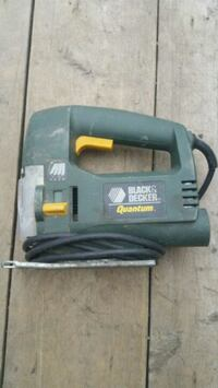 Jig Saw Black and Decker works great. . Used. Pick up only
