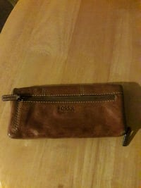 Fossil wallet brown leather San Antonio, 78201