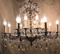 Chandelier Available - Event Lighting  SF