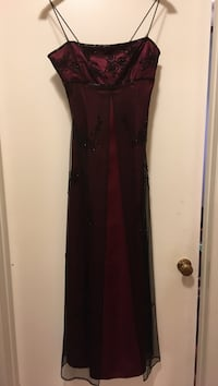 Red and black spaghetti strap dress Hagerstown, 21742